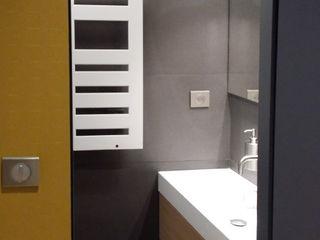 Conception d'une salle de douche Myriam Wozniak Architecture et décoration Salle de bain minimaliste