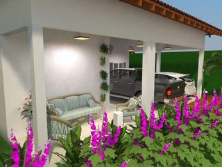 Atelie 3 Arquitetura Wiejskie domy Biały