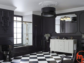 Modern Home Salle de bainSièges