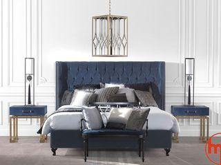 Modern Home ChambreLits & têtes de lit