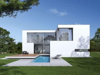 Einfamilienwohnhaus in Hannover Fichtner Gruber Architekten Moderne Häuser