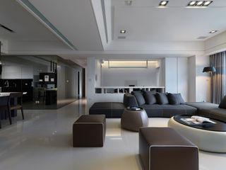 倍果設計有限公司 Moderne Wohnzimmer
