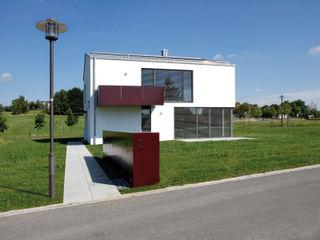 Zweifamilienwohnhaus Hoffeld Fichtner Gruber Architekten Moderne Häuser