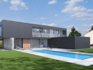 Wohnhaus An den Klostergründen Fichtner Gruber Architekten Moderne Häuser