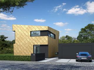 EFH Golden Nugget Fichtner Gruber Architekten Moderne Häuser