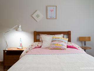 custom casa home staging Kamar Bayi/Anak Gaya Skandinavia