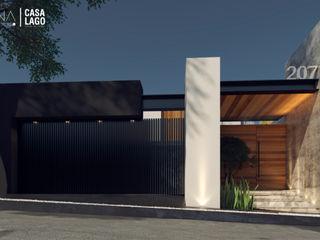 Besana Studio Будинки Сірий