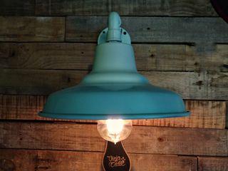 Galponera Lámpara Pared Retro Lamparas Vintage Vieja Eddie Paredes y pisosDecoración de paredes Hierro/Acero Verde