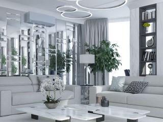 Exklusive Wohnung in München MIKOLAJSKAstudio Ausgefallene Wohnzimmer