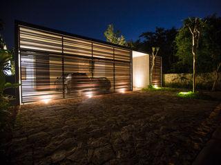 FGO Arquitectura Modern Evler Aluminyum/Çinko Kahverengi
