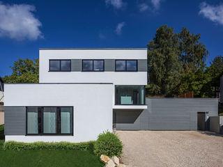KitzlingerHaus GmbH & Co. KG منازل خشب معالج White