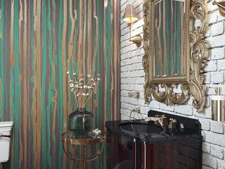 Restroom design KAPRANDESIGN Ванная комнатаАксессуары Белый
