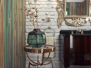 Restroom design KAPRANDESIGN Ванная комнатаВанны и душевые Зеленый