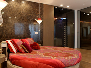 Villa N Studio Vesce Architettura Camera da letto in stile classico