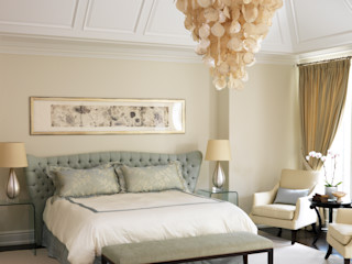 Classic Elegance Douglas Design Studio Classic style bedroom White