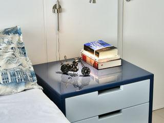 Move Móvel Criação de Mobiliário BedroomBedside tables Wood Blue