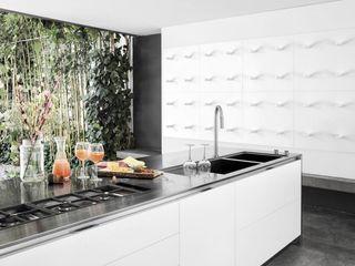 Living POLARISLife CucinaLavandini & Rubinetti Ferro / Acciaio Metallizzato/Argento