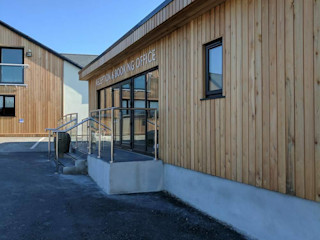 Refurbishment Retallack Completed Building With Frames Modern Houses Wood