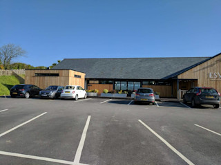 Refurbishment Retallack Completed Building With Frames Modern Gym Wood