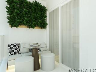 Secato Arquitetura e Interiores Balconies, verandas & terraces Furniture