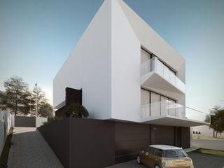 Moradia unifamliar - Tipologia T3 Esboçosigma, Lda Casas modernas