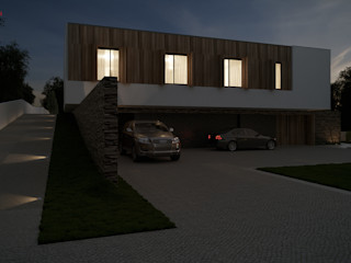 Moradia unifamiliar - Tipologia T4 Esboçosigma, Lda Casas minimalistas