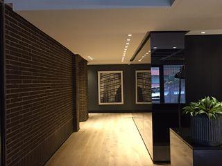 Ecologik Modern corridor, hallway & stairs Grey