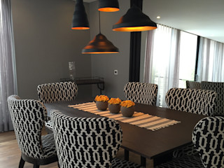 Ecologik Eclectic style dining room Black