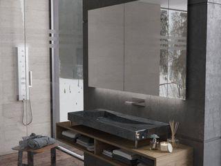 SolidART Digital Architecture Moderne Badezimmer Beige