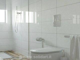 SolidART Digital Architecture Moderne Badezimmer