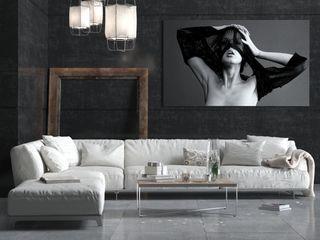 SolidART Digital Architecture Moderne Wohnzimmer
