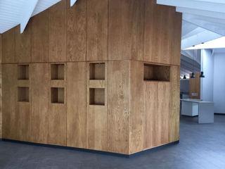 Black Canvas Architectural Interiors Salones de estilo escandinavo