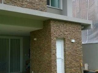 Rebello Pedras Decorativas Casas de estilo rústico Caliza