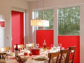 UNLAND International GmbH 窗戶與門百葉窗與捲簾 布織品 Red