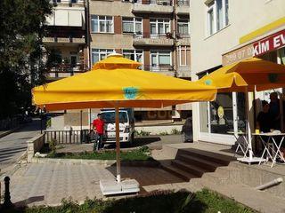 Akaydın şemsiye 庭院 鋁箔/鋅 Yellow