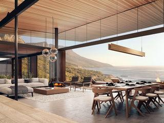 Kunst Architecture & Interiors Ruang Keluarga Modern