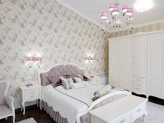 дизайн-студия ПРОСТРАНСТВО ДИЗАЙНА Country style bedroom