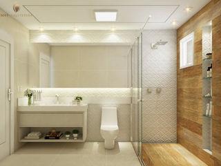 iost Arquitetura e Interiores Baños modernos Cerámico Acabado en madera
