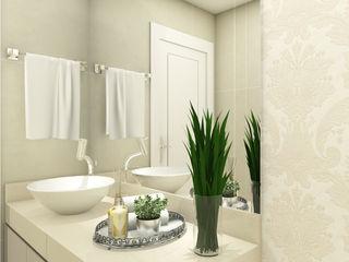 iost Arquitetura e Interiores Baños modernos Granito Beige