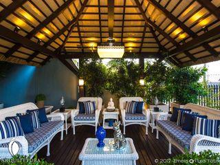 iost Arquitetura e Interiores Jardines zen Madera Blanco