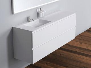 Copenhagen Bath - Badezimmerschränke Copenhagen Bath BadezimmerAufbewahrungen Weiß