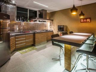 fatto arquitetura Modern style kitchen