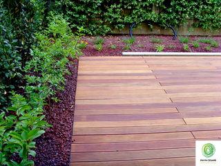 Pavimentazione in legno Giardini Pavin Cesare Giardino moderno