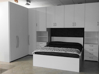 CORDEL s.r.l. 臥室衣櫥與衣櫃 實木 White