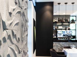 Płytki 3d Rivall w Atelier Amaro Artis Visio Ściany i podłogiKafelki Beton Szary