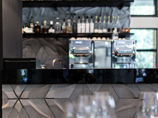 Płytki 3d Rivall w Atelier Amaro Artis Visio Ściany i podłogiDekoracje ścienne Beton Szary