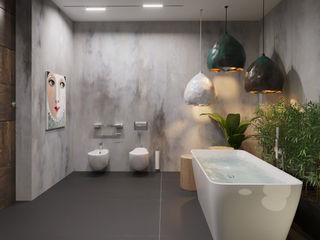ГАРНО ДОМ СОЛНЦА Ванная комната в эклектичном стиле