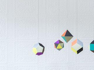 House Frame Wallpaper & Fabrics Espacios comerciales de estilo moderno