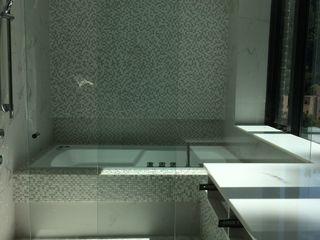 Ecologik Modern bathroom Tiles White