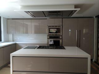 Ecologik Modern kitchen Chipboard Beige
